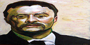 Singer  Paintings - Roosevelt by Buffalo Bonker