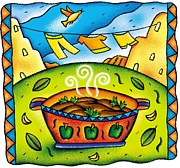 Traditional Culture Digital Art - Ropa Vieja by Nadia Richie Studio