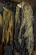 Board And Batten Siding Photos - Rope and Tack by Lynn Palmer