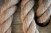 Rope Photos - Rope In A Hole by Dan Holm