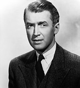 Films By Alfred Hitchcock Framed Prints - Rope, James Stewart, 1948 Framed Print by Everett