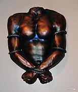 Sculpture Sculptures Sculptures - Roped and Bound by NakedArt ForeverYoung