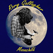 Concert Digital Art - Rory Gallagher Moonchild 2 by Ben Upham