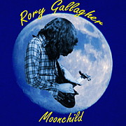 Concert Digital Art - Rory Gallagher Moonchild by Ben Upham