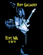 Rock Photos Posters - Rory Kent Blues Poster by Ben Upham