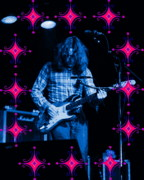 Rock Photos Posters - Rory Sparkles Poster by Ben Upham