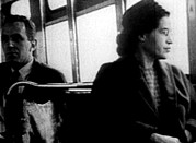Black History Art - Rosa Parks, On The Bus, 1955 by Everett