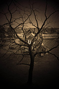 Haunted House Photo Prints - Rosabelle Believe Print by C E Dyer