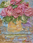 Print On Demand Paintings - Rose bouquet by Tara Leigh Rose