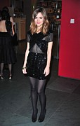 Little Black Dress Prints - Rose Byrne At Arrivals For The Museum Print by Everett
