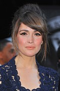 Updo Framed Prints - Rose Byrne At Arrivals For X-men First Framed Print by Everett