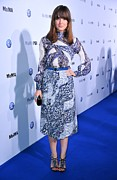 White Dress Prints - Rose Byrne Wearing A Dress By Peter Print by Everett