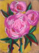 Print On Paper Pastels Posters - Rose Land Poster by John  Williams