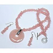 Handcrafted Jewelry - Rose Quartz Spirit by Kelly DuPrat
