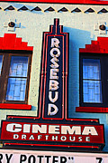 Wauwatosa Framed Prints - Rosebud Cinema Drafthouse Framed Print by Geoff Strehlow