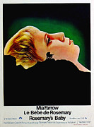 1960s Poster Art Photos - Rosemarys Baby, Aka Le Bebe De by Everett