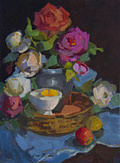 Diane McClary - Roses and Basket