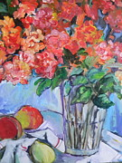 Carol Mangano - Roses and Peaches
