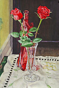 Mark McKain - Roses and Red Bottle