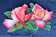 Deco Reliefs - Roses Panel by Steve Orin