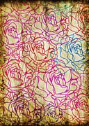 Roses Pattern Print by Setsiri Silapasuwanchai