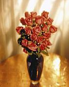 Roses Print by Tony Cordoza