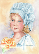 Little Girl Prints - Rosie Print by Barbel Amos
