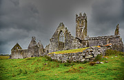 Overcast Art - Ross Friary by Gabriela Insuratelu