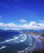 Surf Photography Prints - Rossbehy Beach, Glenbeigh, Ring Of Print by The Irish Image Collection