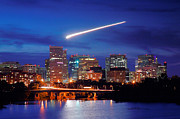 Skyline Print Prints - Rosslyn Skyline II Print by Steven Ainsworth