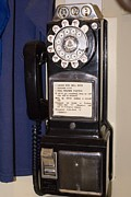 Handset Prints - Rotary-dial Telephone With Coinbox Print by Mark Williamson