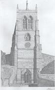 Rothwell Church Print by Michael  Dixon