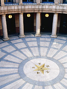 Office Space Metal Prints - Rotunda in Texas State Capitol Metal Print by Jeremy Woodhouse