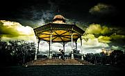 Bandstand Prints - Rotunda Print by Wayne Sherriff