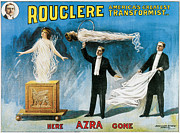 Tricks Posters - Rouclere Americas Greatest Transformist Poster by Unknown