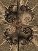 Fractal Geometry Digital Art - Rough Hewn by David April