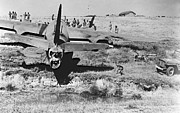 Rough Landing 1943 Print by Padre Art
