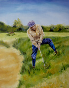 Diane Kraudelt Art - Rough Lie by Diane Kraudelt