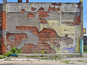 Detroit Art - Rough Wall by David Kyte