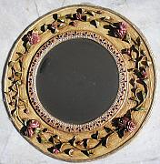 Featured Reliefs Originals - Round Mirror by Prity Jain