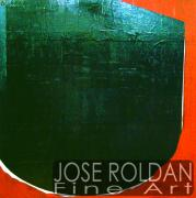 Ink Sculpture Originals - Round Square by Jose Roldan