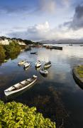 Water Vessels Prints - Roundstone, Co Galway, Ireland Fishing Print by Peter McCabe