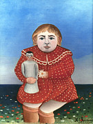 Rousseau: Child/doll, C1906 Print by Granger
