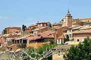 Provence Village Framed Prints - Roussillon in Provence Framed Print by Carla Parris