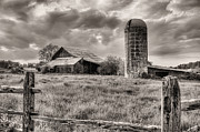 Maryland Photos - Route 213 Black and White by JC Findley