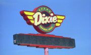 Mclean Prints - Route 66 - Dixie Truckers Home Print by Frank Romeo