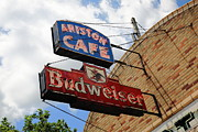 Neon - Route 66 - Ariston Cafe Neon by Frank Romeo