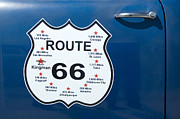 Americas Highway Prints - Route 66 Arizona Print by Bob Christopher