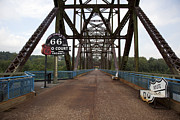 Route 66 Bridge, 2009 Print by Granger