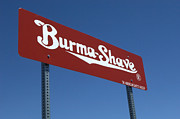 Pinstriping Photos - Route 66 Burma Shave by Bob Christopher